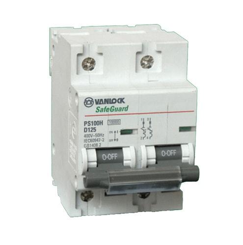 MCB 2P 80A 10KA PS100H/2/D80