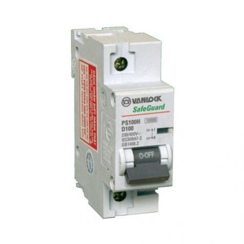 MCB 1P 80A 10KA PS100H/1/D80