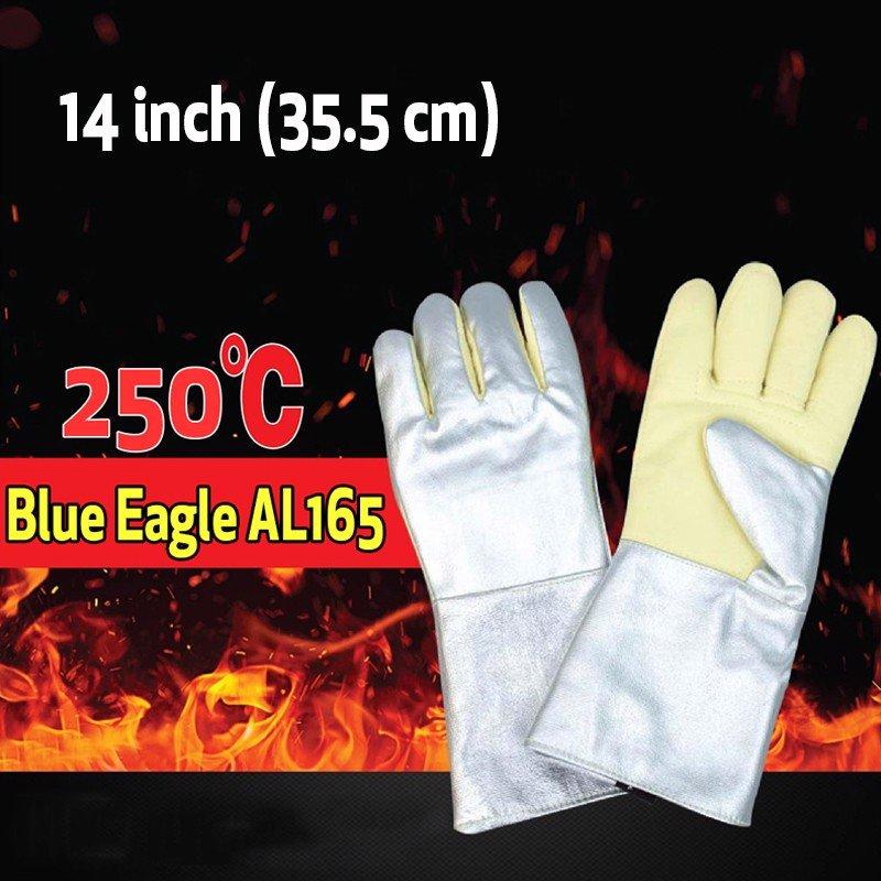 Găng Tay Cách Nhiệt Blue Eagle AL145 14 Inch Chịu Nhiệt 250°C