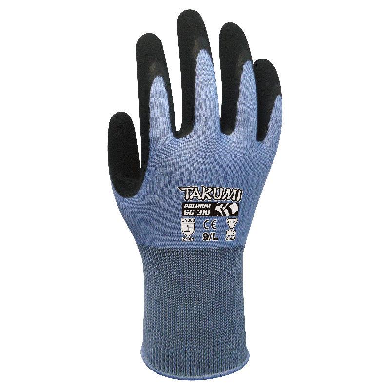 Takumi SG-310 – Găng tay Nylon phủ Latex (Max-Grip)