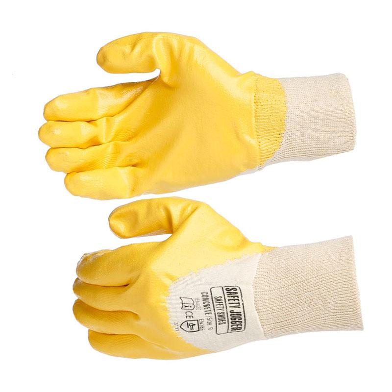 Safety Jogger Concrete / Găng bảo hộ sợi cotton