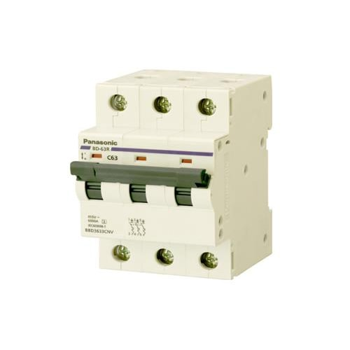 MCB 3P 40A 6kA 415VAC BBD3403CNV