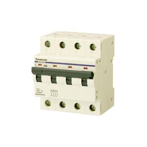 MCB 4P 63A 6kA 415VAC BBD4634CNV