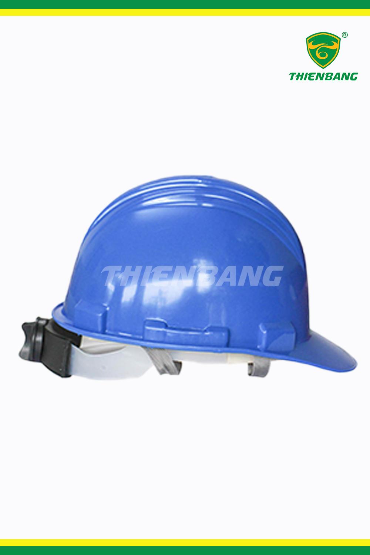 Mũ bảo hộ Hồng Phạm xanh N03