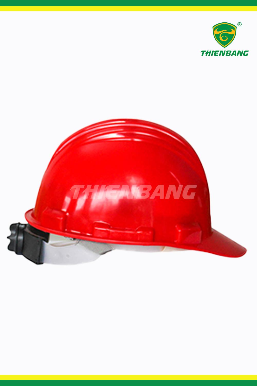 Mũ bảo hộ Hồng Phạm đỏ N03