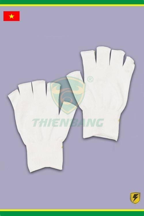 Găng tay bảo hộ cắt ngón trắng chuyên cho phòng sạch