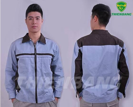 Quần áo bảo hộ theo mẫu TBM09