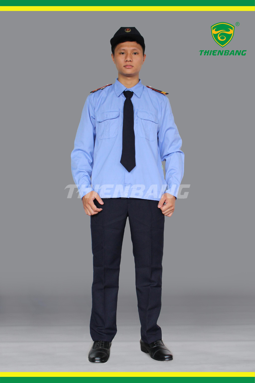 Đồng phục bảo vệ đầy đủ phụ kiện