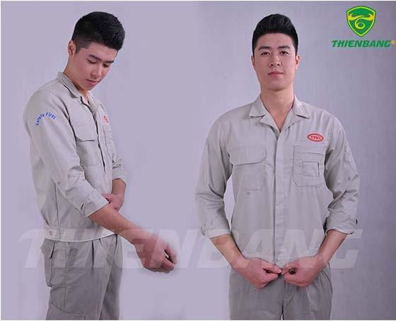 Quần áo bảo hộ theo mẫu TBVIC06