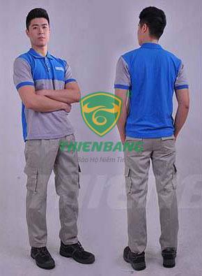 Quần áo bảo hộ theo mẫu TBMAP05