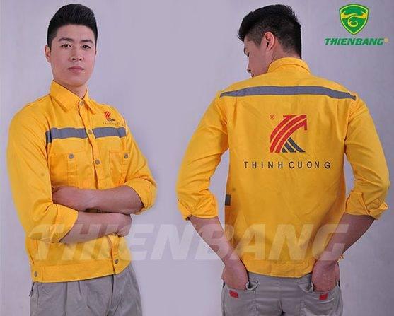 Quần áo bảo hộ theo mẫu TBTC08