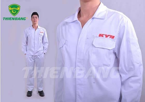 Quần áo bảo hộ theo mẫu TBMKYB02