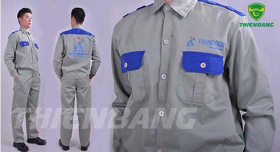 Quần áo bảo hộ theo mẫu TBNVP03