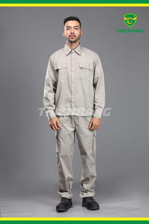 Quần áo bảo hộ TB01