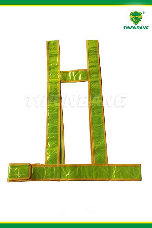 Áo dây phản quang xanh lá