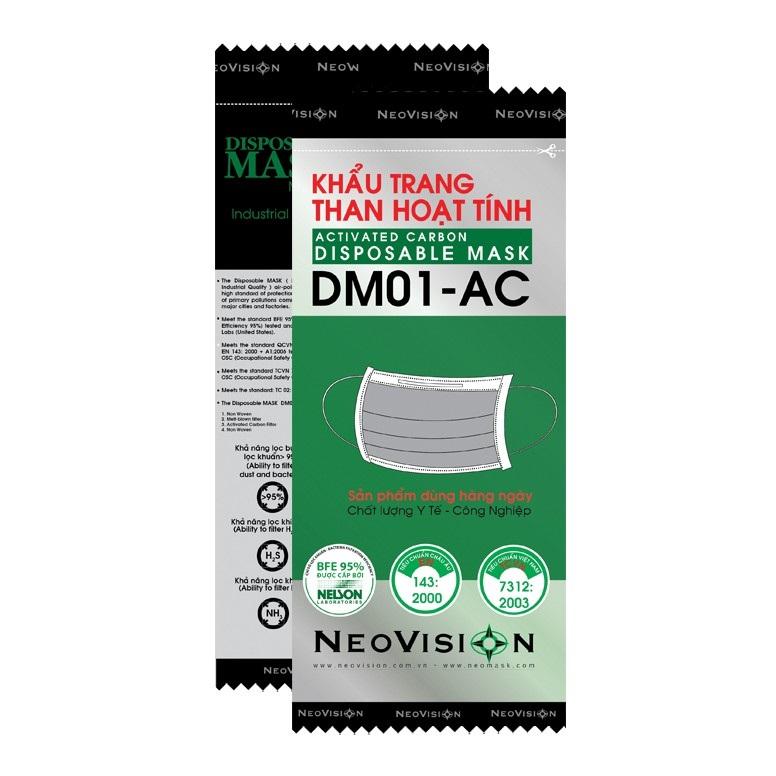 Khẩu trang than hoạt tính DM01-AC