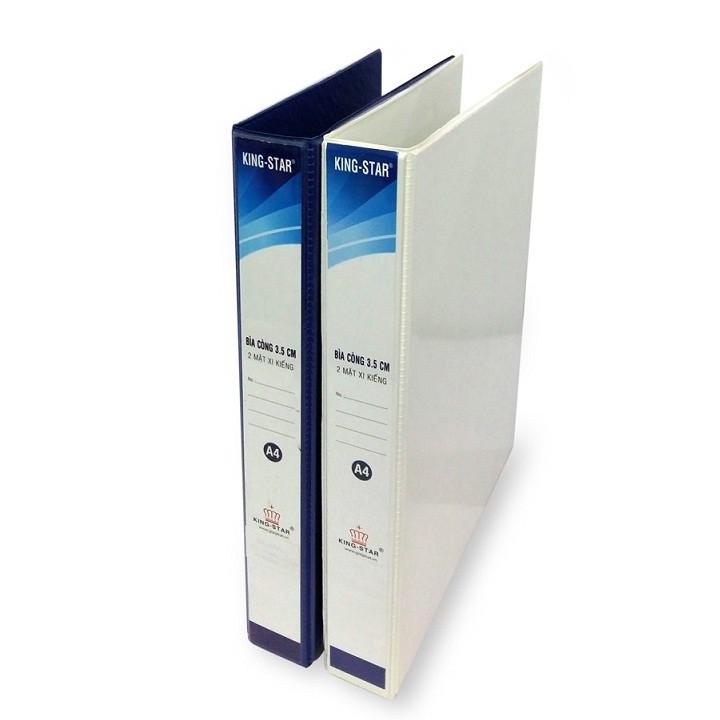 Bìa còng cua Simili KS 3.5 Cm lồng kiếng