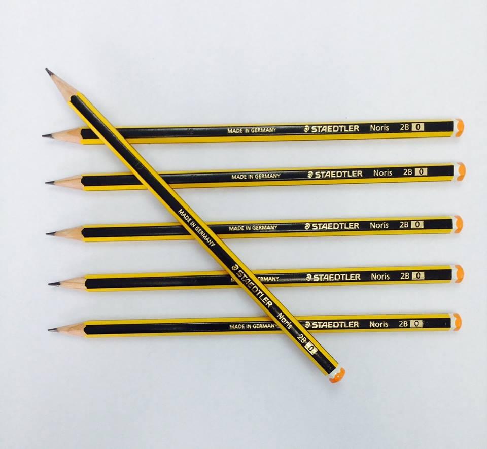 Bút chì gỗ Staedtler 2B 120