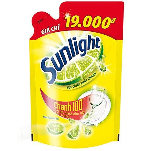 Nước rửa chén Sunlight Chanh bịch 750ml