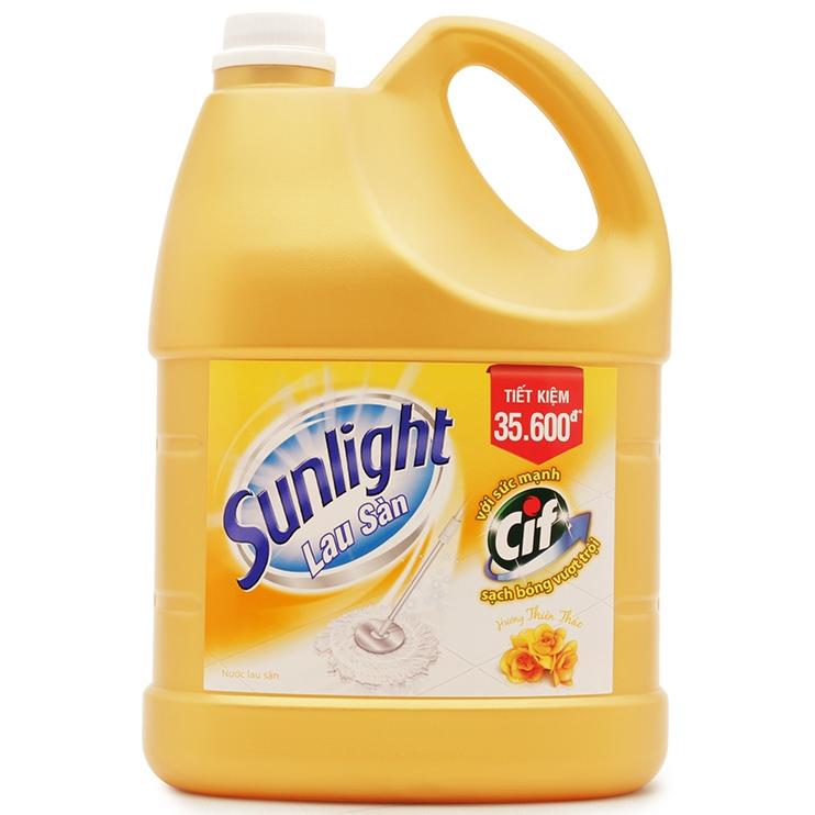 Nước lau sàn Sunlight 4kg