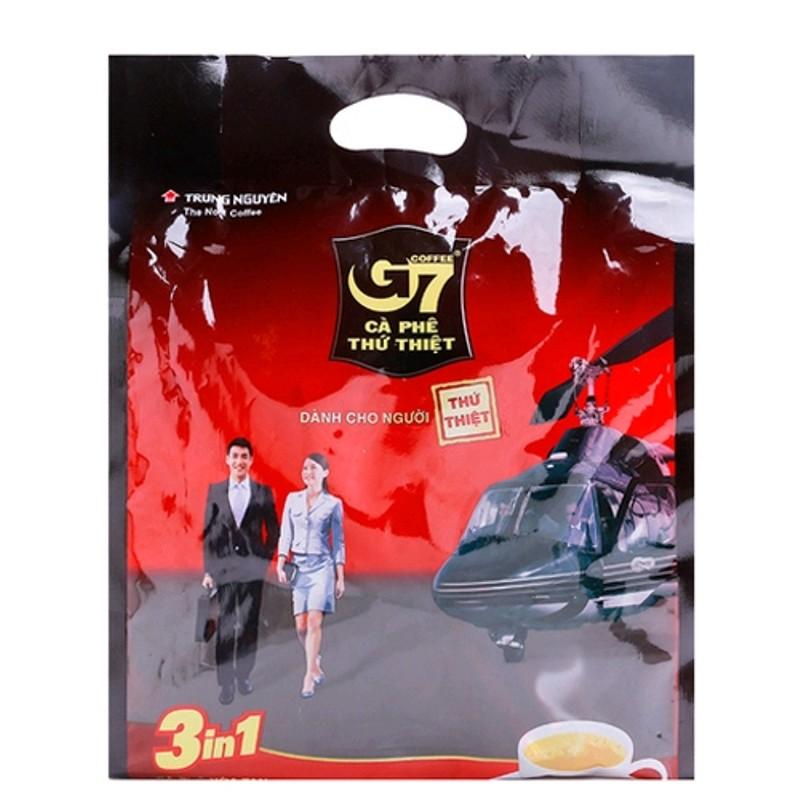 Cà phê sữa hòa tan 3 in 1 G7 (50 gói)