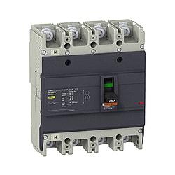 MCCB EASYPACT EZC250 4P 25KA 200A
