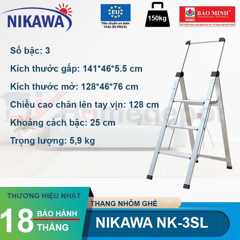 Thang ghế Nikawa NK-3SL