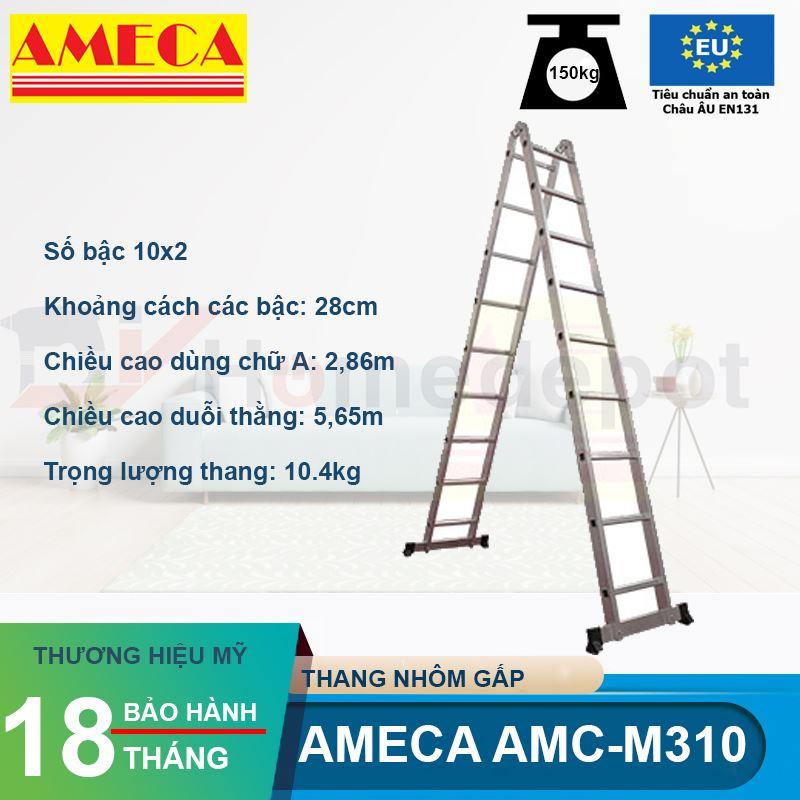 Thang Chữ A Khóa Tự Động Ameca AMC-M310