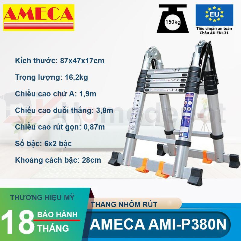 Thang Xếp Đôi Ameca AMI-P380N
