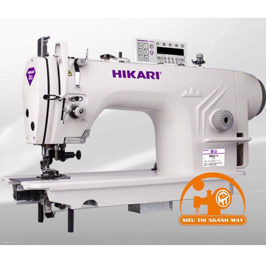 Máy 1 kim điện tử Hikari cắt chỉ tự động dùng cho hàng dày, nâng CV tự động (ổ Nhật ) Model : H8800EH-7C-5/AK