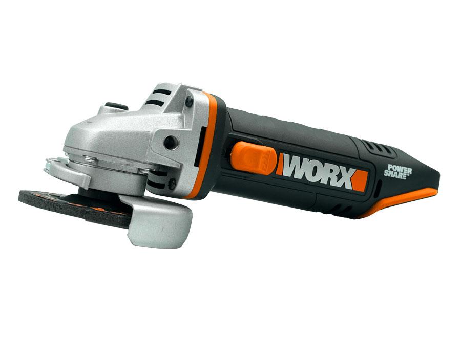 Máy mài góc dùng pin Li-ion 20V 100mm Worx Orange WX802