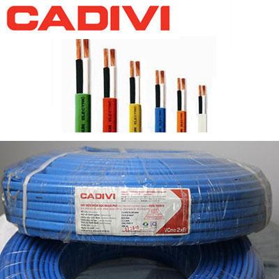 Dây Điện Cadivi VCmo 2x6.0 - 450/750V