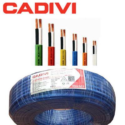 Dây Điện Cadivi VCmo 2x2.5 - 450/750V
