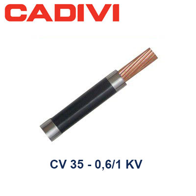 Dây Điện Đơn Cadivi CV 35 - 0,6/1 KV