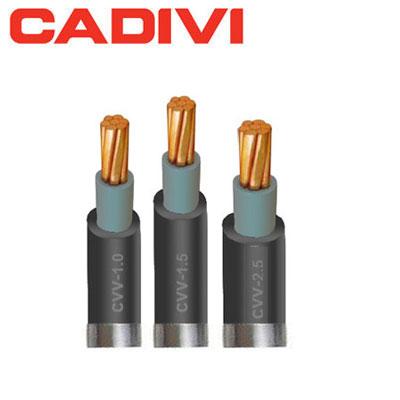 Dây Điện Đơn Cadivi CVV 2.5 - 0,6/1 KV