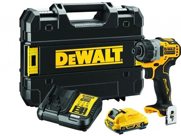 Máy khoan vặn vít dùng pin Dewalt 12V DCF601D1