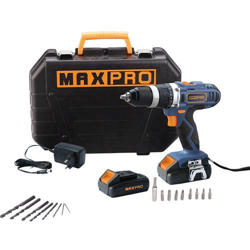 Máy khoan động lực dùng pin Maxpro MPCD18HLI/2E