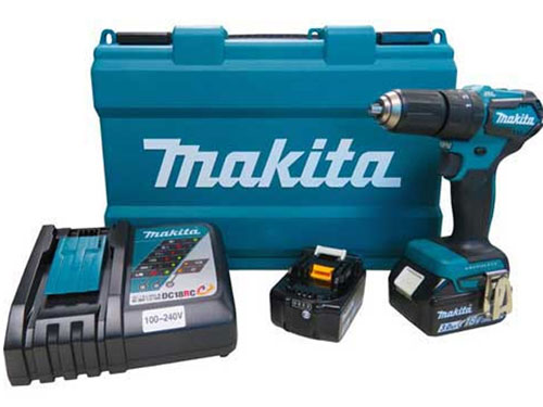 Máy khoan búa dùng pin 18V Makita DHP483RFE