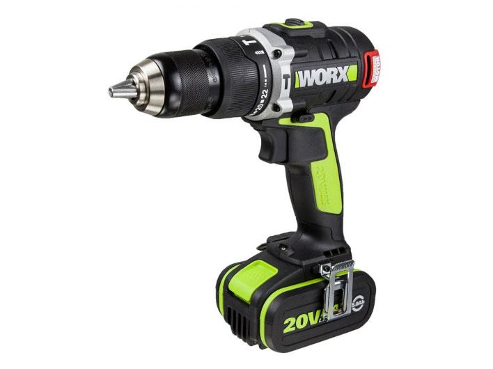 Máy khoan động lực dùng pin Li-ion 20V Worx Green WU189.2