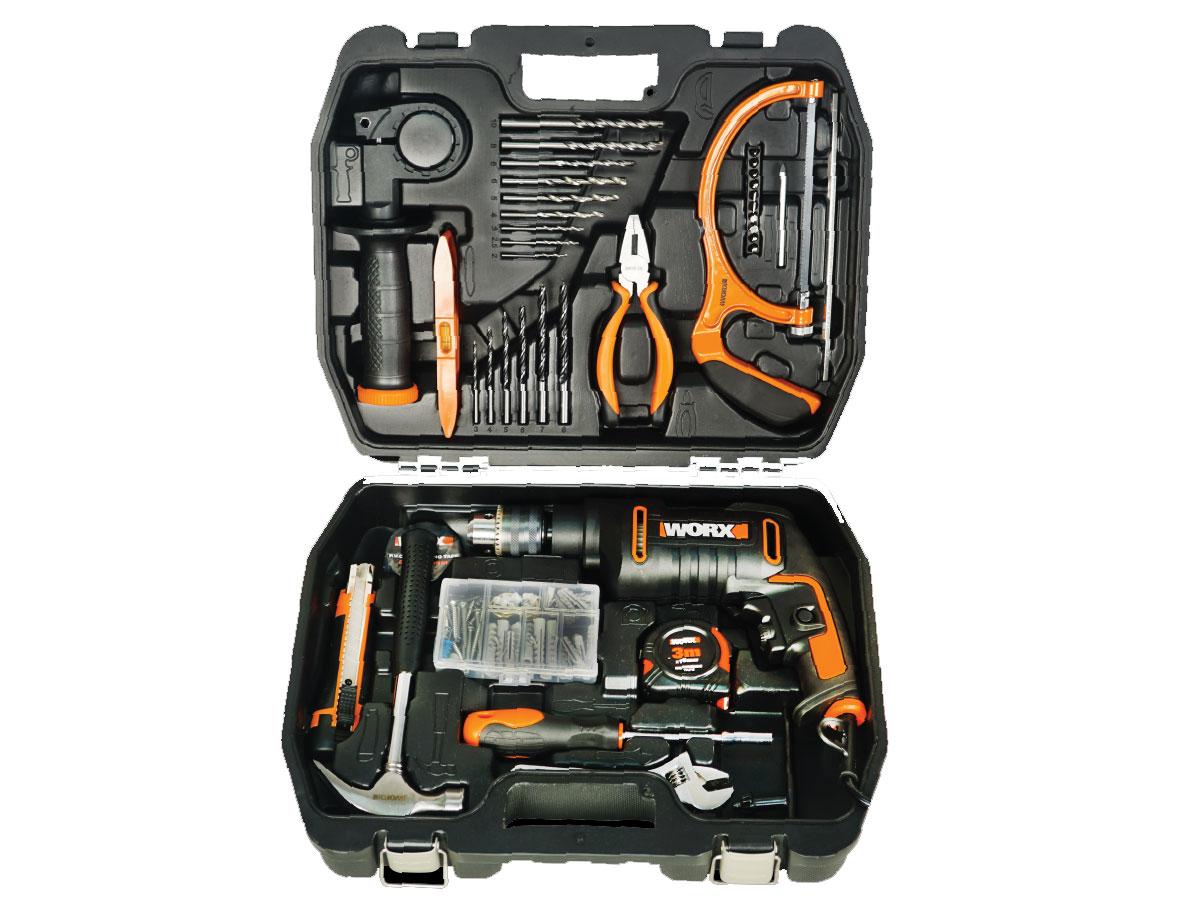 Bộ máy khoan động lực 600W 13mm Worx Orange WX317.3