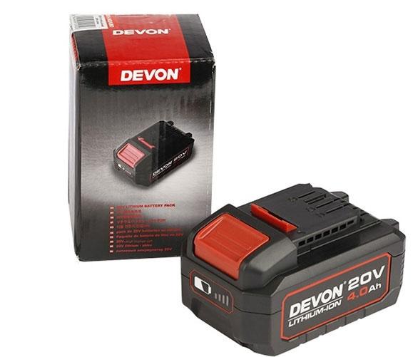 Pin 20V 4.0Ah Devon 5150-Li-20-40