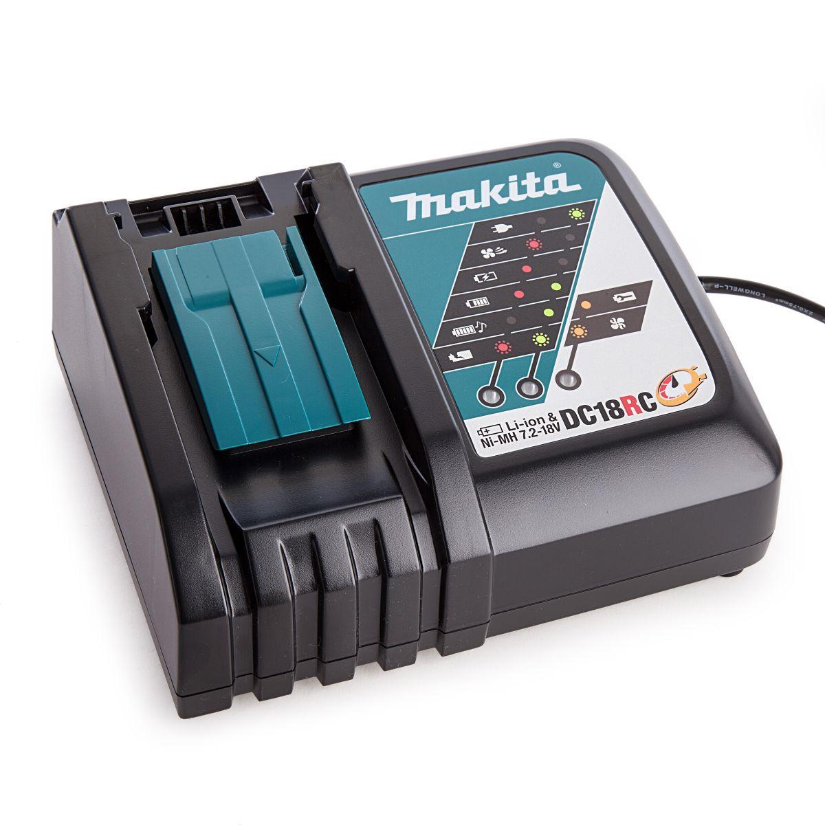 Sạc pin Makita 18V DC18RC (Sạc nhanh)