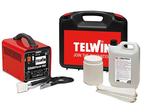 Máy làm sạch mối hàn Telwin Cleantech 100