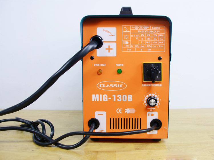 Máy hàn MIG không dùng khí Classic MIG-130B