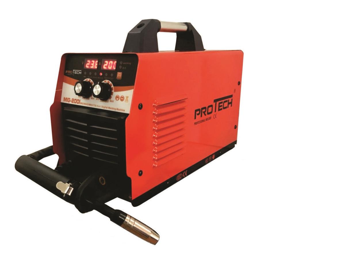 Máy hàn MIG mini Protech MIG 200I (Cuộn dây 1 kg)