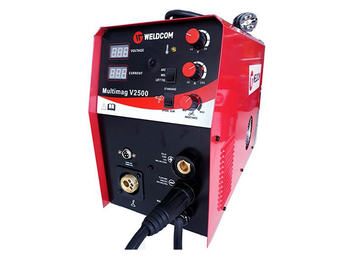 Máy hàn Mig không dùng khí Weldcom Multimag V2500