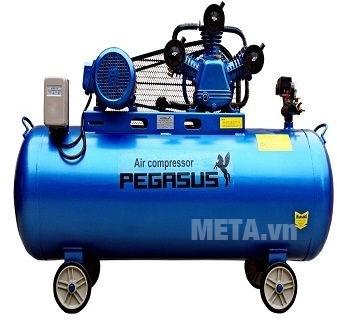 Máy nén khí dây đai Pegasus TM-W-0.36/8-330L (4HP)