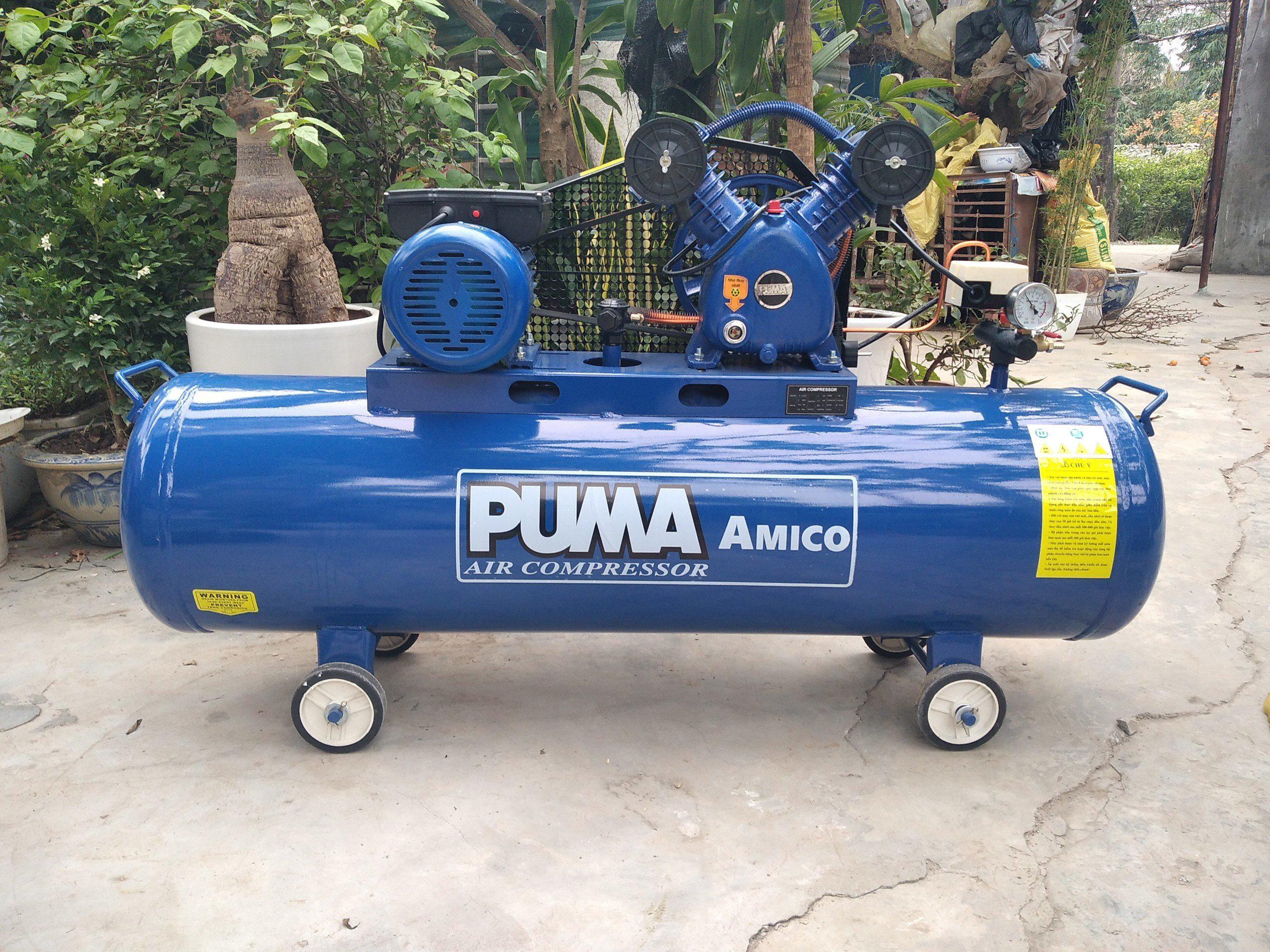 Máy nén khí Puma 3HP 120 lít V-0.25/8