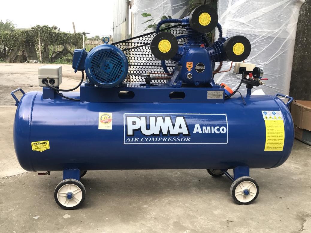 Máy nén khí Puma 5.5HP 200 lít V-0.6/8 (380V)