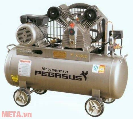Máy nén khí Pegasus TM-V-0.25/12.5 (120 lít, 380V)
